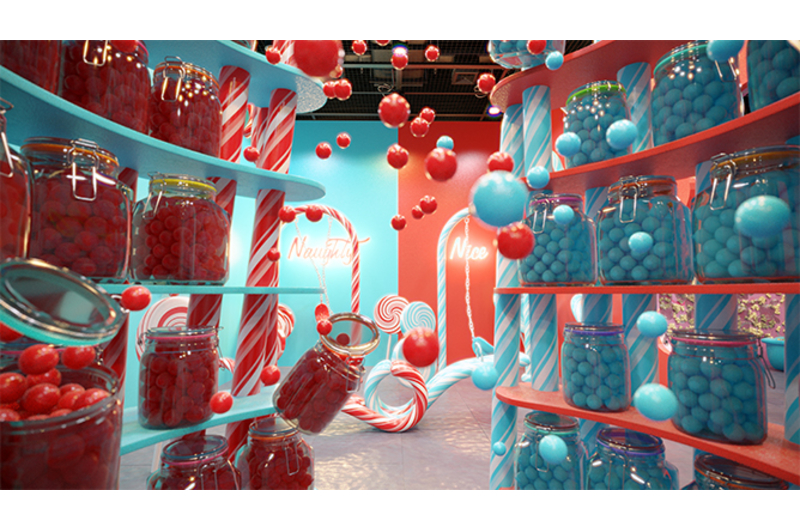 This is a one of a kind pop up dessert museum where the activities not only look fun but also look tasty!